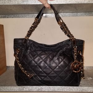 Mk Susannah Quilted Tote
